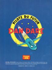 Verso de Dan Dare pilote du futur -2- Album N°2
