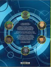 Verso de Les chroniques de l'Univers -2- Les Mangeurs de temps