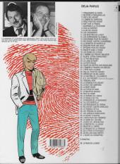 Verso de Ric Hochet -17e1997- Épitaphe pour Ric Hochet