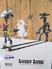 Verso de Lucky Luke -18g2021- A l'ombre des Derricks