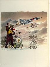 Verso de Tanguy et Laverdure -14b1981- Baroud sur le désert
