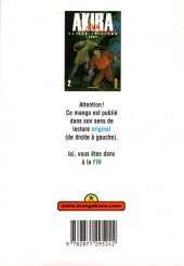 Verso de Akira (Anime) -2- Tome 2