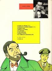 Verso de Blake et Mortimer (Historique) -1b77'- Le Secret de l'Espadon - Tome I - La Poursuite fantastique