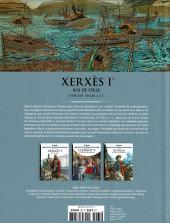 Verso de Les grands Personnages de l'Histoire en bandes dessinées -65- Xerxès Ier, roi de Perse