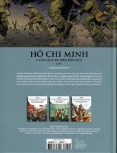 Verso de Les grands Personnages de l'Histoire en bandes dessinées -62- Hô Chi Minh, La bataille de Diên Biên Phu