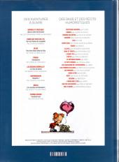 Verso de (Recueil) Spirou (Album du journal) -365- Spirou album du journal