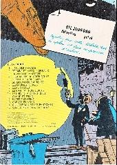 Verso de Gil Jourdan -4c1980- Les cargos du crépuscule