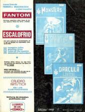Verso de Relatos salvages - Artes marciales Vol. 1 -1- Número 1