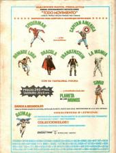 Verso de Relatos salvages - Artes marciales Vol. 1 -10- El Ladrón en las Sombras Doradas