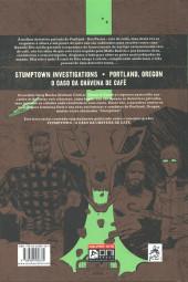 Verso de Stumptown (en portugais) -4- O caso da chávena de café