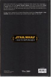 Verso de Star Wars - La Haute République -2- Dans les profondeurs