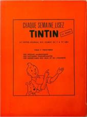 Verso de Chick Bill (collection Jeune Europe) -120'- Les disparus du Mirific