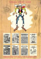 Verso de Lucky Luke -10a1969'- Alerte aux Pieds-Bleus