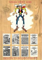 Verso de Lucky Luke -17b1969'- Sur la piste des Dalton