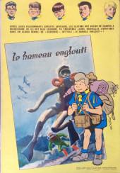 Verso de La patrouille des Castors -7- Le secret des Monts Tabou
