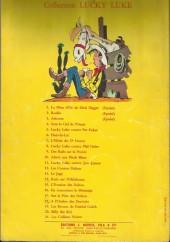 Verso de Lucky Luke -16a- En remontant le Mississipi