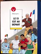 Verso de Michel Vaillant -5TT- Le 13 est au départ