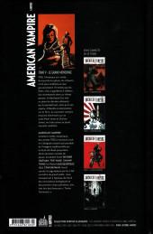 Verso de American Vampire -9- Le grand mensonge