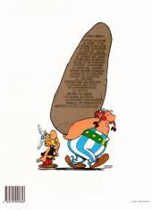 Verso de Astérix -8d1984- Astérix chez les Bretons