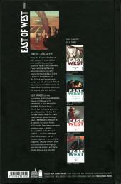 Verso de East of West -10- Apocalypse