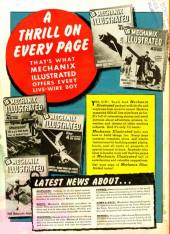 Verso de Bulletman (Fawcett - 1941) -2- Issue # 2