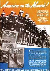 Verso de Bulletman (Fawcett - 1941) -6- Issue # 6