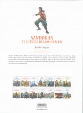 Verso de Les grands Classiques de la littérature en bande dessinée (Glénat/Le Monde) -35a2021- Sandokan et le tigre de Mompracem