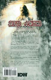 Verso de Deadworld: War of the Dead - Tome tpb