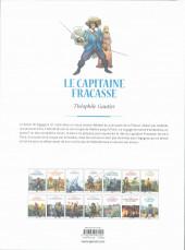Verso de Les grands Classiques de la littérature en bande dessinée (Glénat/Le Monde) -11a2021- Le capitaine Fracasse