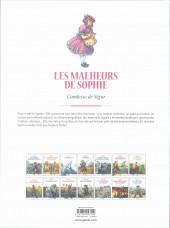 Verso de Les grands Classiques de la littérature en bande dessinée (Glénat/Le Monde) -45a2021- Les malheurs de Sophie