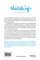 Verso de (AUT) Walthéry -2021- Walthéry le facétieux