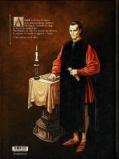 Verso de Les enquêtes de Machiavel -1- La voie du mal