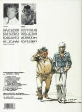 Verso de Bernard Prince -14a1983- Le piège aux 100.000 dards
