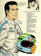 Verso de Michel Vaillant -4d1974- Route de nuit