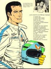 Verso de Michel Vaillant -11a1972- Suspense à Indianapolis