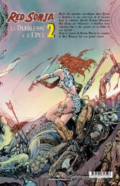 Verso de Red Sonja, la diablesse à l'épée (Les Aventures Originales) -2- Les Années Marvel, volume 2