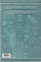 Verso de Les Éternels (100% Marvel) -2- La fin du voyage