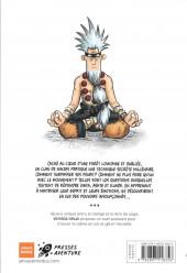 Verso de Vinyasa Ninja -1- Le pouvoir du yoga