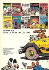Verso de Sammy -11a1978- Deux histoires de gorilles