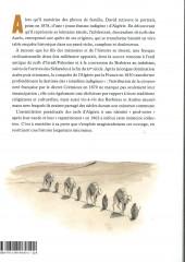 Verso de Histoire dessinée des juifs d'Algérie
