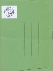 Verso de La sacoche à Rimbaud
