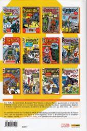 Verso de Fantastic Four (L'intégrale) -2- Fantastic Four : L'intégrale 1963