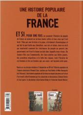 Verso de Une histoire populaire de la France -1- De l'état royal à la commune