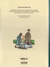 Verso de Spirou et Fantasio par... (Une aventure de) / Le Spirou de... -18NB- L'Espoir malgré tout - Troisième partie - Un départ vers la fin