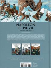 Verso de Les grands Personnages de l'Histoire en bandes dessinées -71- Napolléon et Pie VII