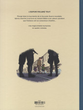 Verso de Spirou et Fantasio par... (Une aventure de) / Le Spirou de... -18ES- L'Espoir malgré tout - Troisième partie - Un départ vers la fin