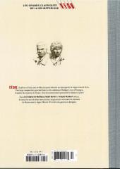 Verso de Les grands Classiques de la BD Historique Vécu - La Collection -48- Les Chemins de Malefosse - Tome XI : Le Feu sur l'eau