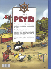 Verso de Petzi (4e Série - Chours/Caurette) -3- Le Noël de Petzi