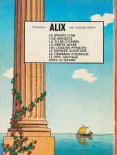 Verso de Alix -7a1972- Le Dernier Spartiate