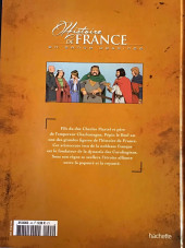 Verso de Histoire de France en bande dessinée -6- Pépin le Bref premier des Carolingiens 751-768